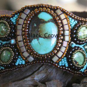 Beadwork Bracelets Turquoise
